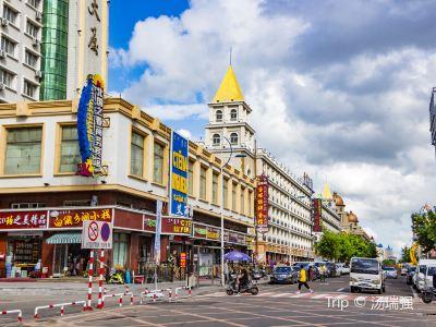 中俄商貿步行街