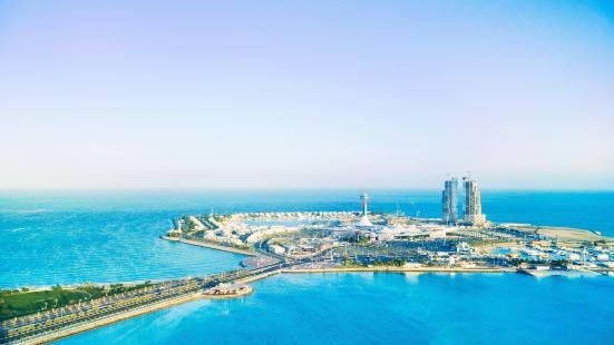 Abu Dhabi artificial island