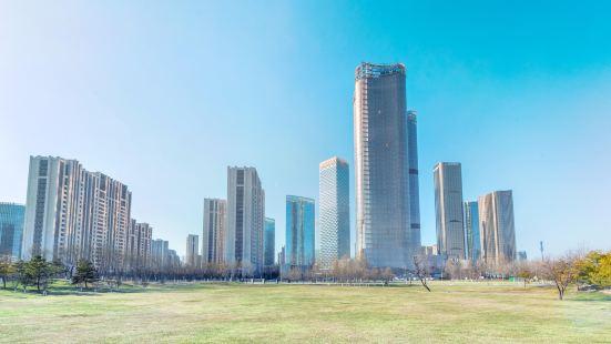 Beijing Chaoyang Dawangjing Park (North Gate)