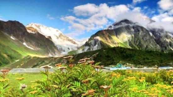 嘎隆拉雪山