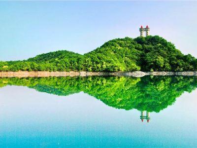 Guanhu Island Scenic Spot of Mount Lu Xihai