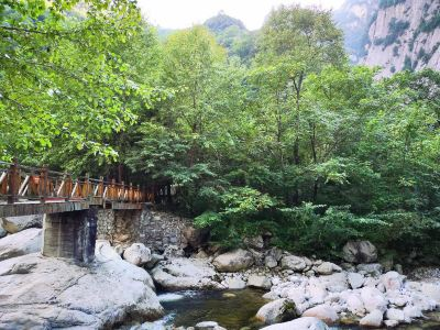 Taibai Qingfengxia Forest Park