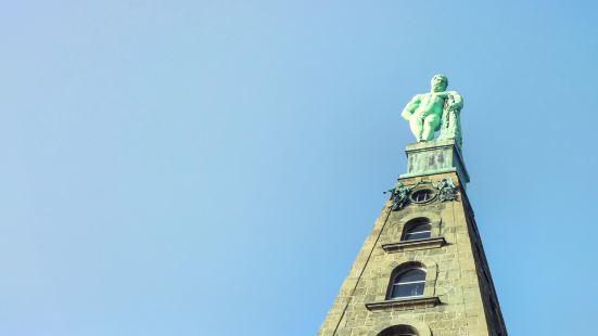 大力士赫拉克利斯雕像