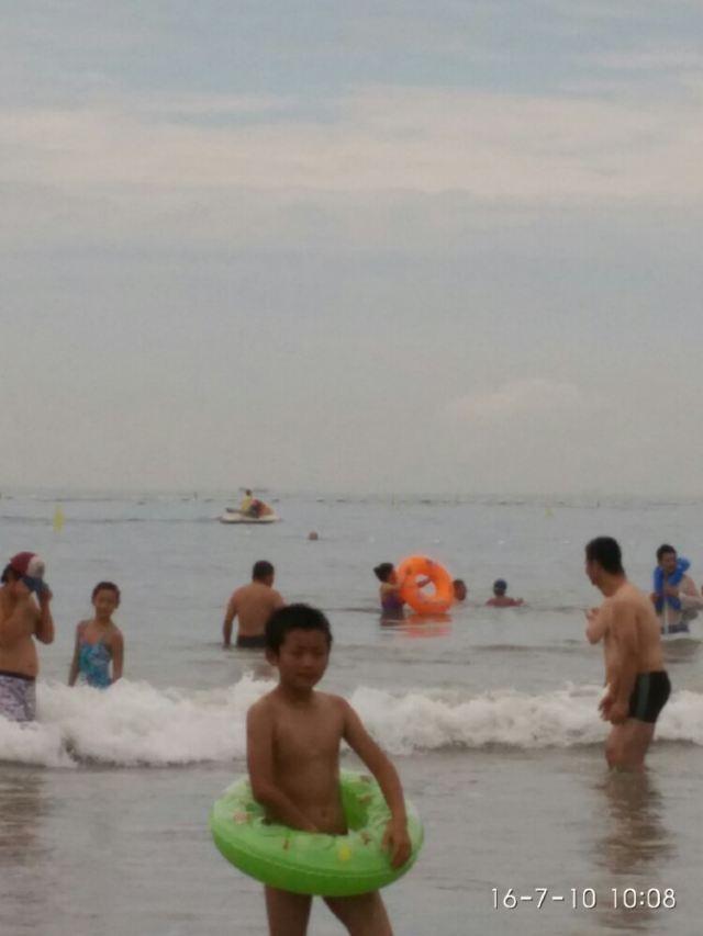 석노인 해수욕장