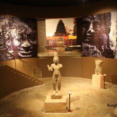 앙코르 국립 박물관 여행 사진