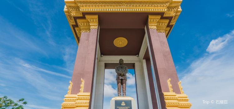Statue of King Father Norodom Sihanouk1