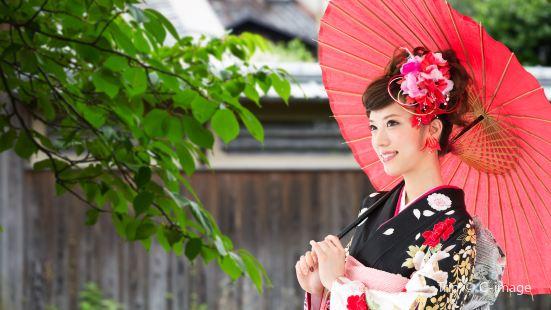 小袖和服體驗——東京淺草館