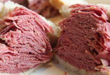 多伦多美食图片-熏肉三明治