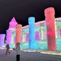 빙등(빙덩) 축제 여행 사진