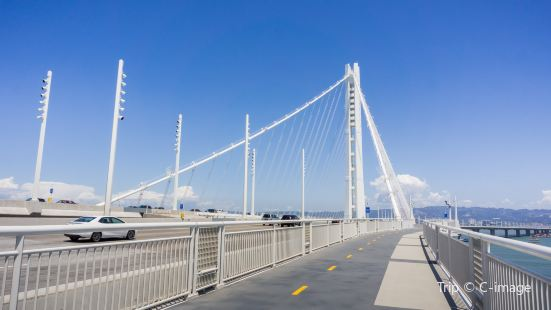 San Francisco-Oakland Bay Bridge bicycle and pedestrian path