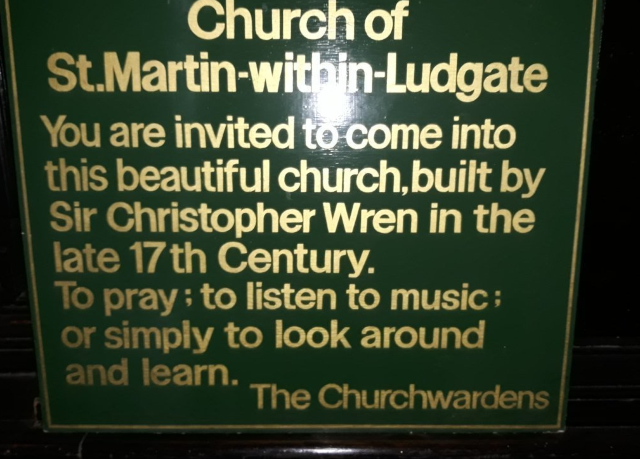 Church of St. Martin-within-Ludgate