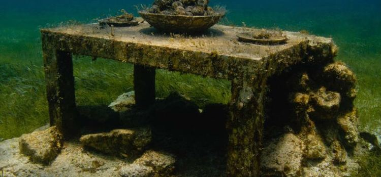 Cancun Underwater Museum2