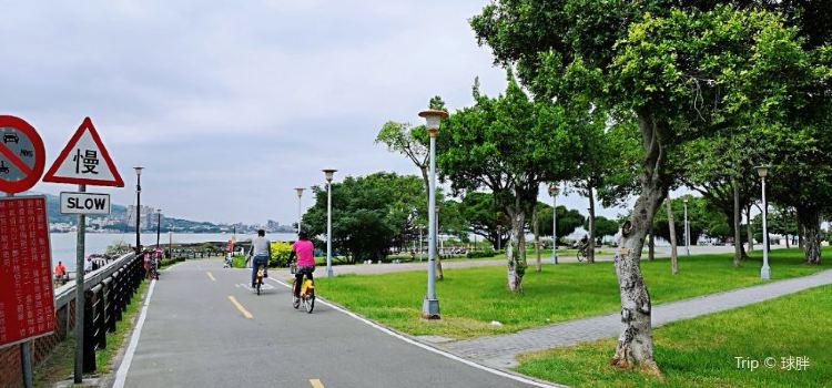 淡水‧金色水岸自行車道1