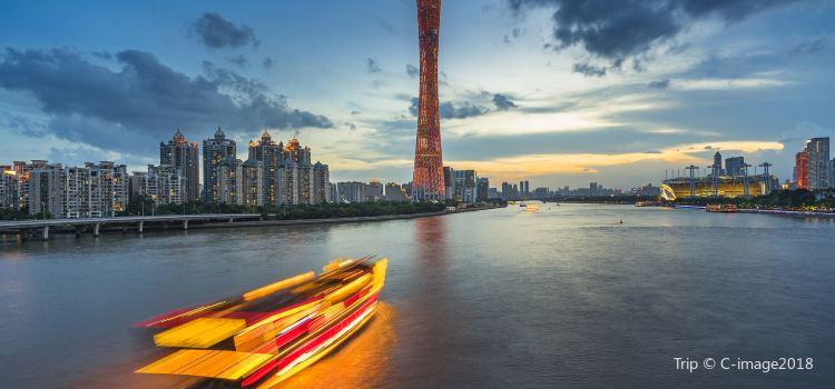 Guangzhou Tower Pier Night Tour2
