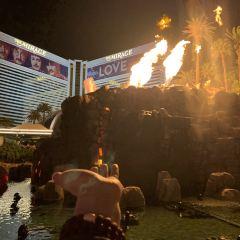 海市蜃樓的火山噴發用戶圖片