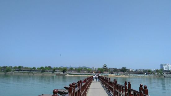 閬中古城-浮橋