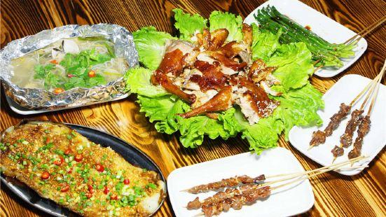 鵬旺興荔枝木烤雞(海鮮廣場1分店)