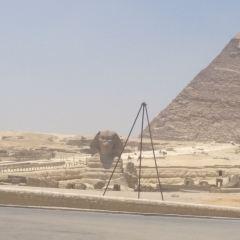 기자 피라미드 여행 사진