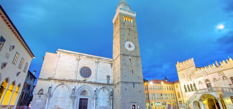 Koper Cathedral and Bell Tower