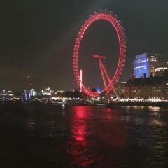 런던 아이 여행 사진