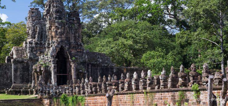South Gate - Angkor Thom2