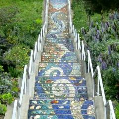 馬賽克藝術階梯 用戶圖片