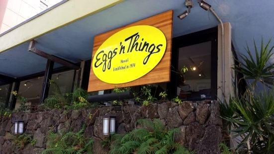 Eggs'n Things Waikiki Beach Eggspress