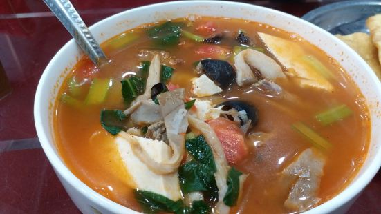 穆薛回族人家第一碗粉湯