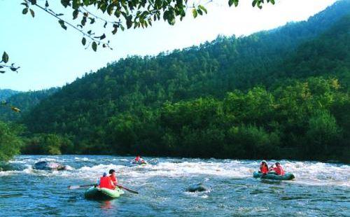 桃山呼蘭河漂流河段