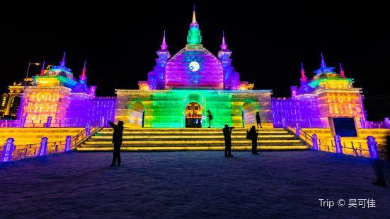滿洲里冰雪公園