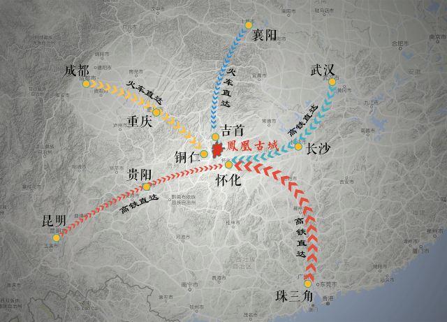 鳳凰在哪裡?教你一分鐘搞定怎麼來鳳凰古城的交通