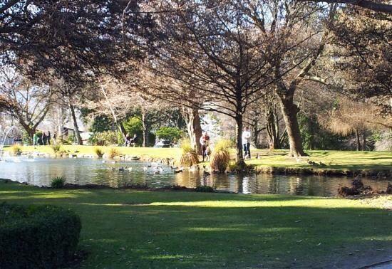 皇后鎮花園