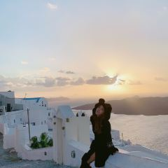 Santorini Sunset Cycle Line User Photo
