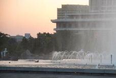 万寿台喷水公园-平壤-小思文