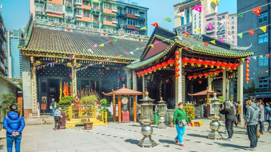 Guangzhou City God Temple