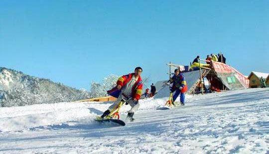 Mudanfeng Ski Field