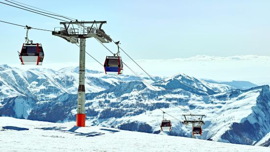 古道裡滑雪場