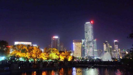 南昌秋水廣場音樂噴泉