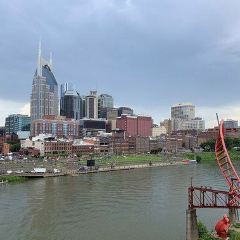 Cumberland River Pedestrian Bridge User Photo