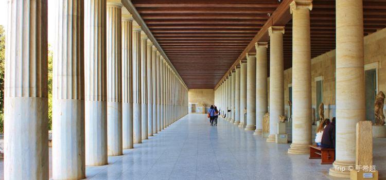 阿塔羅斯柱廊2