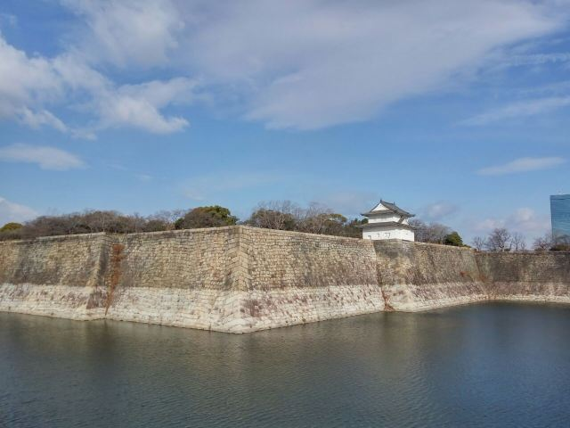 오사카 성 천수각