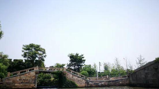新市橋堍古運河旅遊碼頭