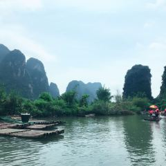위룽강 래프팅 여행 사진