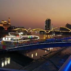 민장강 야간 투어 여행 사진