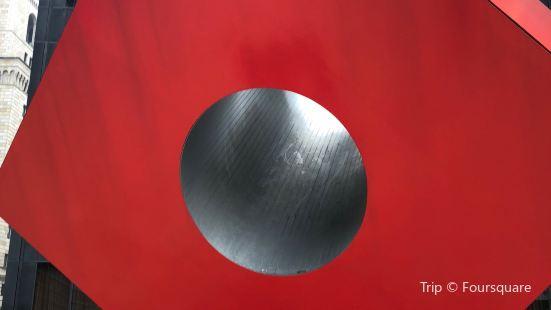 紅色立方體