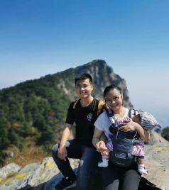 庐山风景区游记图文-6个多月的娃跟爸妈登庐山记