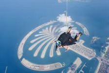 두바이 스카이다이빙 체험 여행 사진