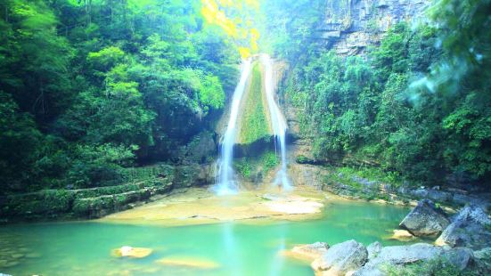 Niujiaozhai Waterfall Scenic Area