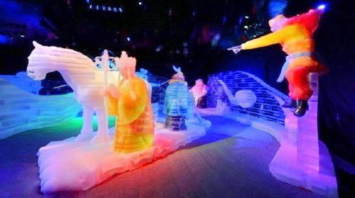 Guangfu Scenic Spot Ice Light Exhibition