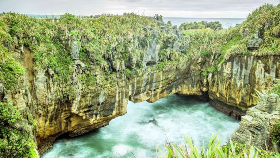 Punakaiki Pancake Rock and Blowhole
